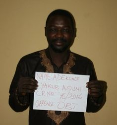 The Economic and Financial Crimes Commission EFCC on Wednesday May 3 2017 obtained the conviction of one Adekunle Yakub Asuni who has been sentenced to four years imprisonment without any option of fine by Justice I. B. Gafai of the Federal High Court Akwa Anambra State for attempting to transfer the sum of (N7000.000.00) Seven million naira belonging to a customer of a new generation bank.   Asuani who was earlier arraigned on Monday 11 April 2016 on a four count charge of attempted…