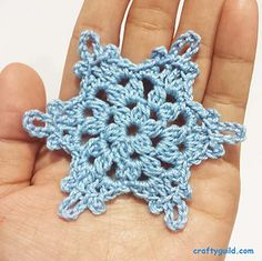 Ravelry: Mini Snowflakes Ornament pattern by Rhea Papellero