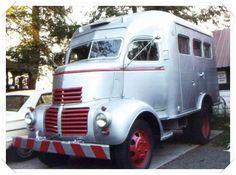1941 GMC COE 1 1-2 ton panel truck