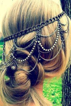 Jewerly hair