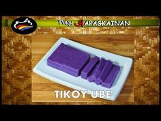 Turn sticky rice cake into another Pinoy favorite flavor. This purple yam version of the tikoy is perfect not just for the Chine Round Cake Pans, Round Cakes, Tikoy Recipe, Glutinous Rice Flour, Purple Yam, Filipino Desserts, Complete Recipe, Egg Wash, Cheese Cloth