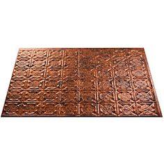 Fasade Moonstone Copper Backsplash Panels (Set of 4) - Overstock™ Shopping - Big Discounts on Fasade Backsplash Tiles