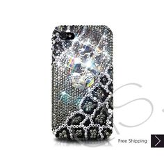 Emperor Bling Swarovski Crystal iPhone 5 Case - Black
