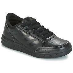 Cipők Fiú Rövid szárú edzőcipők adidas Performance ALTASPORT K Fekete