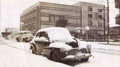 dia em que nevou na cidade de Erechim no RS. Estas imagens foram fotografadas no dia 20 de Agosto de 1965. SHOWROOM IMAGENS DO PASSADO resgatando histórias