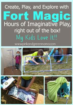 A Fort Building Kit for Kids! Fort Magic Review (and a Giveaway!)