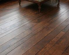 Wood flooring random width pattern installation | Flooring Ideas | Floor Design Trends