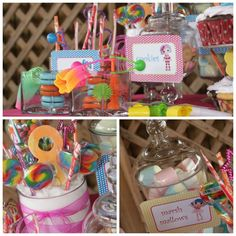 Lalalloopsy Candy Buffet | By: POP Candy Buffets | DeVarona, Guaynabo PR | #popcandybuffet | www.facebook.com/popcandybuffets
