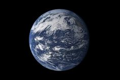 Viewed from space, the most striking feature of our planet is the water. In both liquid and frozen form, it covers 75% of the Earth's surface. It fills the sky with clouds. Water is practically everywhere on Earth, from inside the rocky crust to inside our cells.