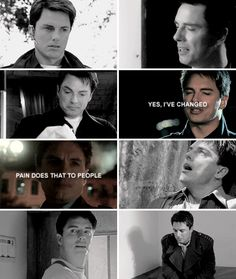 yes, I've changed. pain does that to people. #torchwood