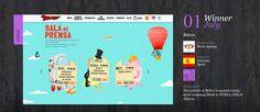 Hemos ganado el CssDesignAward a la mejor web de Julio 2012