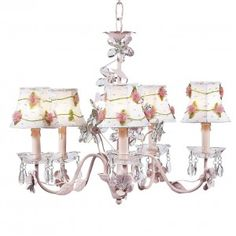 Crystal Flower Chandelier Bright Idea