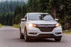 Don't be afraid to turn down a new path with your HR-V Crossover. Whether you're venturing down evergreen-lined roads, through the hills or near the ocean, the HR-V is up for the journey.