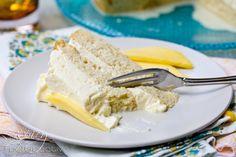 Mango Cream Tres Leches Cake | ASpicyPerspective.com #cincodemayo