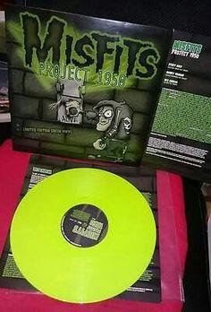 Misfits - Project 1950 (1st Press Green LP)
