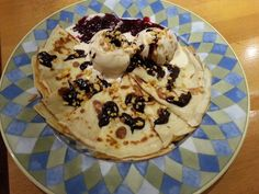 Caroline's perfect pancake - ideal served with any Caroline's Dairy ice cream!