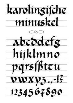 Balto-Slavica > Шрифты и каллиграфия