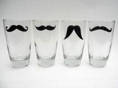 Mustache glasses for favors