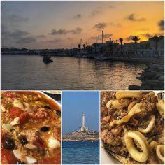 Mojete y fritura variada. 100% cabopalero. Rico atardecer en la Taberna del Puerto.  #cabodepalos #murcia