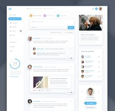 Linkedin - https://dribbble.com/shots/2378124-Linkedin-Redesign/attachments/457372
