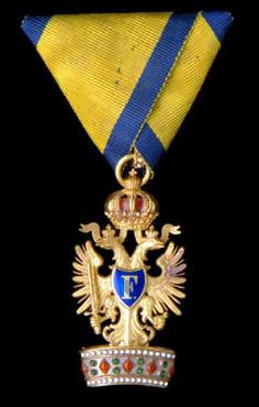 Order of the Iron Crown (Austria), Knight. Civil and Military Order.