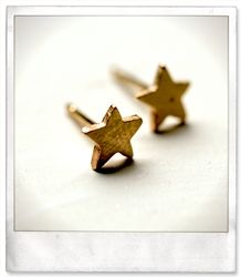 star stud earring by Yayoi Forest