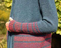 Czerwień w petrolu od Migdał Leg Warmers, Knit Cardigan, Knit Crochet, Cardigans, Sport, Knitting, Fashion, Beautiful Models, Woman
