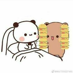 Cute Anime Cat, Cute Cat Gif, Mochi, Unique Iphone Wallpaper, Buddha Drawing, Cute Bear Drawings, Chibi Cat, Cute Panda Wallpaper, Cute Kawaii Animals