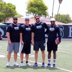 Special thanks to Panthers' Luke Kuechly and Ryan Kalil for coming out to the servite high school football camp