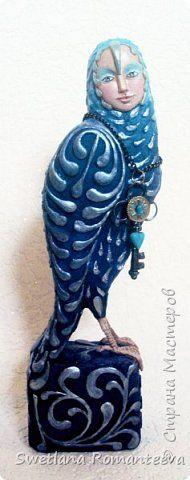 Куклы Моделирование конструирование Папье-маше Птица счастья Бумага Пенопласт Фарфор холодный фото 1