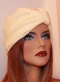 Great Gatsby 1020s  Creamy Cream Full Head by moviestarjewelry