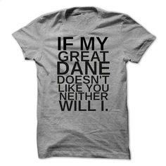 Great Dane Funny Shirt T Shirts, Hoodies, Sweatshirts - #hoody #custom t shirt design. GET YOURS => https://www.sunfrog.com/Pets/Great-Dane-Funny-Shirt-9881-SportsGrey-43436708-Guys.html?60505
