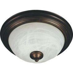 Flushmount EE 1-Light Oil-Rubbed Bronze Flushmount