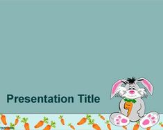 Backgrounds download this ppt templates and backgrounds for rabbit powerpoint template toneelgroepblik Image collections