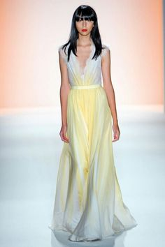 """White + Yellow gown - Jenny Packham  i need a """"drex would murder me"""" board"""