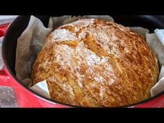 No Knead Bread - Cook - Lock Down Bread Recipe - Jim Michailidis Bread Appetizers, No Knead Bread, Instant Yeast, Bread Rolls, Greek Recipes, Cake Recipes, Bakery, Cooking Recipes, Favorite Recipes