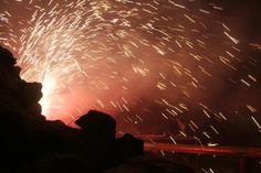 El foc de les calderes dels dimonis, els quals estan enrabiats pel compliment de la paraula dels profetes. Edició del 2013. Concert, Concerts