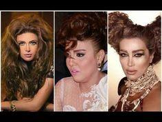 ابشع تسريحات الفنانات العرب - رقم 7 أرعبت كل من شاهدها