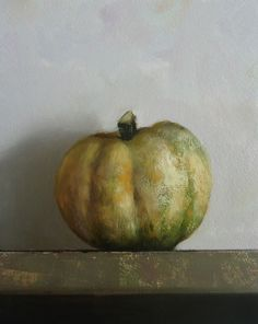 Original Oil Painting - Gourd no.2 - Contemporary Still Life Art - Nelson