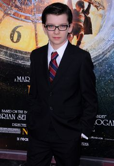 Asa Butterfield.  He would be a perfect Artemis Fowl.