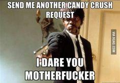Haha! So true! Damn candy crush!