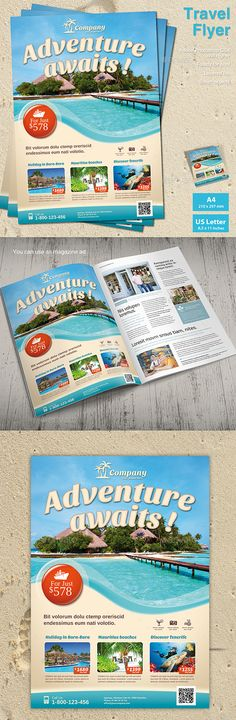 105 Best Travel Flyer images in 2019 | Travel agency