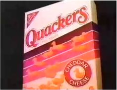Before Goldfish... there were Quackers! OMG Sham remember eating these at the cabin watching the bikers thinking they were gonna kill us?? @sharlene earnshaw