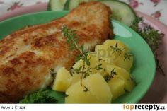 Dijonský pangas No Salt Recipes, Cheese, Chicken, Meat, Beef, Cubs