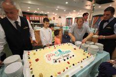 inaugurazione Stagione 2014 GoinSardinia - la Compagnia di navigazione da e per la Sardegna creata dai sardi (il momento del taglio della torta)