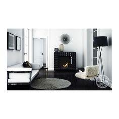 Sisustustakka Swarovski, musta biotakka - Takkahenki.fi House Design, Interior, Home, Fireplace, Interior Inspo