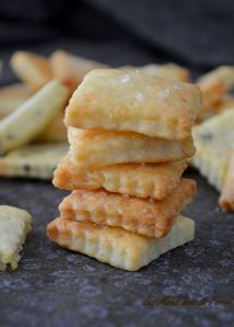 Crackers au fromage et à l'huile d'olive