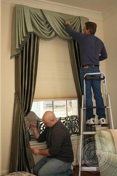Custom Drapery Designs, LLC. - Installations