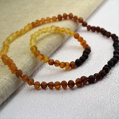 Baltic Amber Adult Necklace 18 & Bracelet . от BalticAmberCity