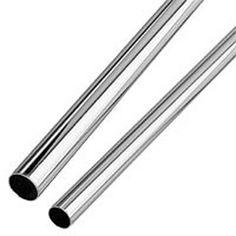 "Fittings & Railing | Pipe Railing | Steel Tubing - Chrome Plated 1-1/16"" & 1-1/4"" Dia. - GlobalIndustrial.com"